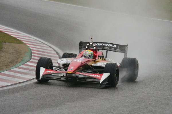 Suzuka, Japan. 9th - 10th November 2013. Rd 7. Race 1. Winner Naoki Yamamoto ( #16 TEAM MUGEN ) action World Copyright: Yasushi Ishihara/LAT Photographic. Ref: 2013SF_Rd7_005