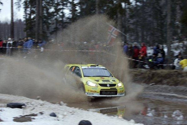 2008 FIA World Rally ChampionshipRound 02Swedish Rally7-10 February 2008Toni Gardemeister, Suzuki, Action.Worldwide Copyright: McKlein/LAT