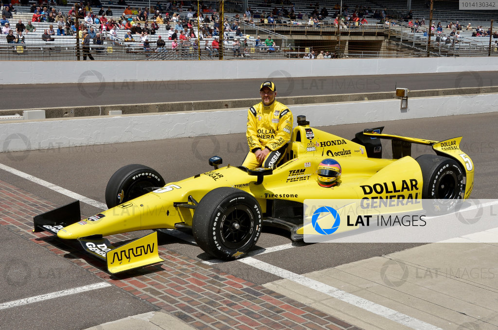 17-18 May, 2014, Indianapolis, Indiana, USA #5 Jacques Villeneuve, Schmidt Peterson Motorsports ©2014 Dan R. Boyd LAT Photo USA