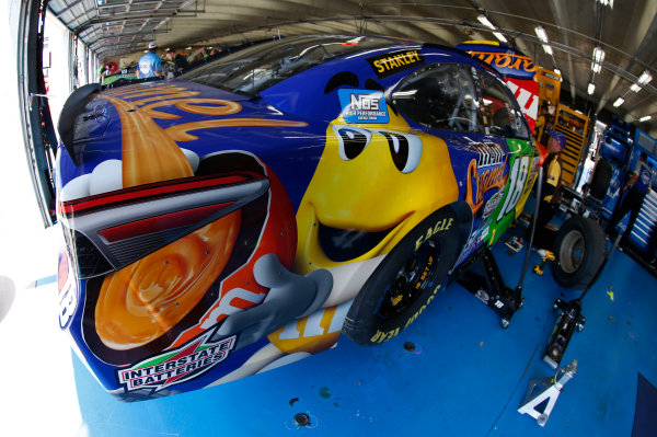 Monster Energy NASCAR Cup Series Monster Energy NASCAR All-Star Race Charlotte Motor Speedway, Concord, NC USA Friday 19 May 2017 Kyle Busch, Joe Gibbs Racing, M&M's Caramel Toyota Camry World Copyright: Matthew T. Thacker LAT Images ref: Digital Image 17CLT1mt1204