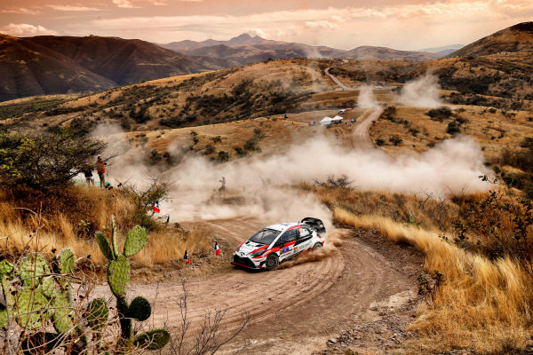 Jari-Matti Latvala (FIN) / Miikka Anttila (FIN), Toyota Gazoo Racing Toyota Yaris WRC at World Rally Championship, Rd3, Rally Mexico, Day One, Leon, Mexico, 10 March 2017.