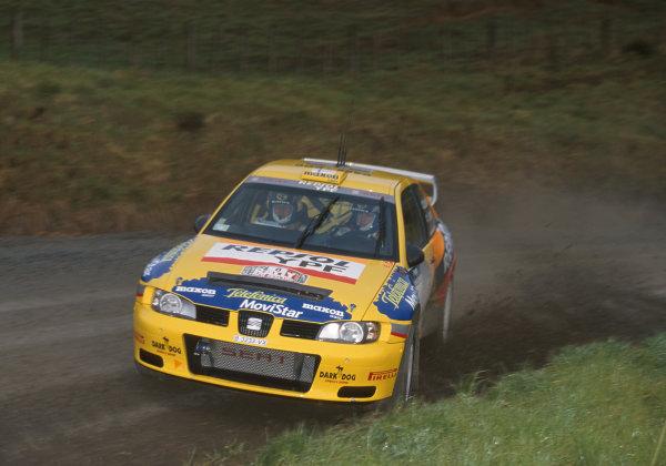 2000 World Rally ChampionshipRound 8, New Zealand Rally14th -16th July 2000Gardemeister - Seat.World - Mcklein / LAT Photographic