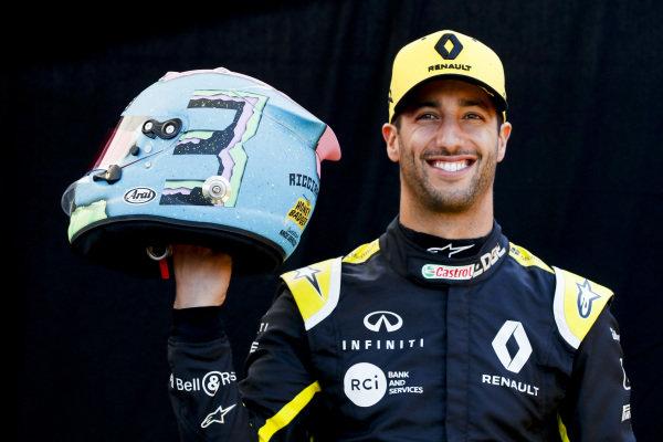 Official Portrait Daniel Ricciardo, Renault