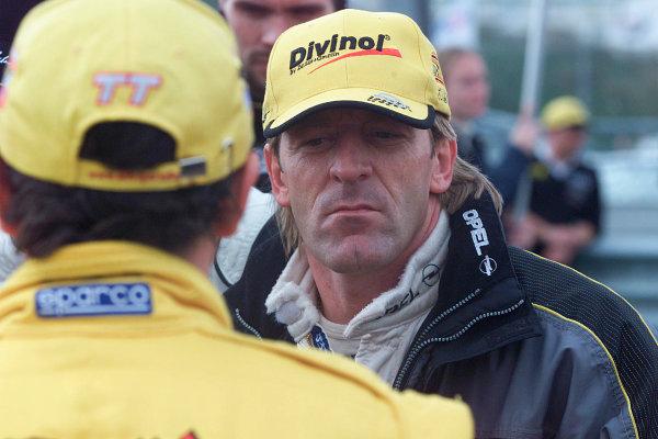 2001 DTM ChampionshipZandvoort, Holland. 22nd - 23rd September 2001.Joachim Winkelhock (Opel Team Holzer), portrait.World Copyright: Tingle/LAT Photographicref: 5 5mb Digital Image Only