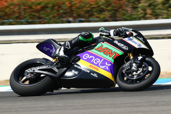 Fabio Quartararo, Petronas Yamaha SRT's garage.