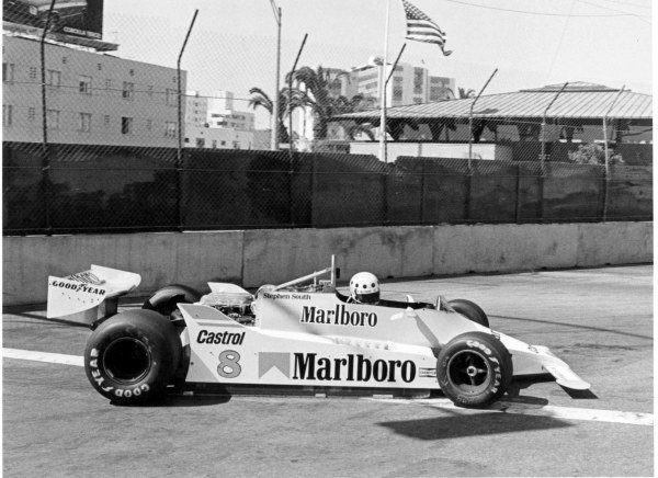 1980 United States Grand Prix West.Long Beach, California, USA.28-30 March 1980.Stephen South (McLaren M29 Ford). He never qualified for a Grand Prix.World Copyright - LAT Photographic