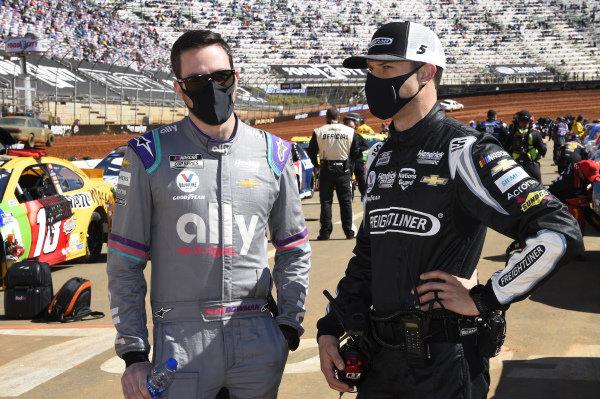 #5: Cliff Daniels Hendrick Motorsports, Chevrolet Camaro Frieghtliner, #48: Alex Bowman, Hendrick Motorsports, Chevrolet Camaro Ally