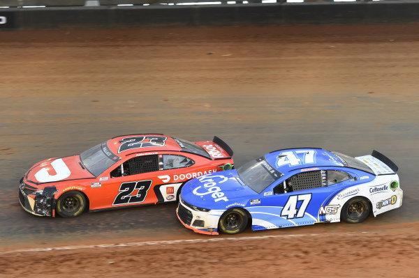 #47: Ricky Stenhouse Jr., JTG Daugherty Racing, Chevrolet Camaro Kroger, #23: Bubba Wallace, 23XI Racing, Toyota Camry DoorDash