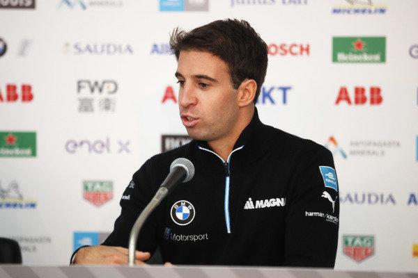 Antonio Felix da Costa (PRT), BMW I Andretti Motorsports in the press conference