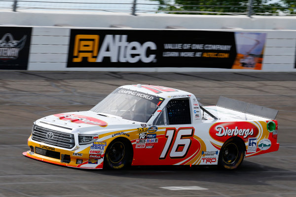 NASCAR Camping World Truck Series Drivin? For Linemen 200 Gateway Motorsports Park, Madison, IL USA Saturday 17 June 2017 Ryan Truex, Diebergs Toyota Tundra World Copyright: Russell LaBounty LAT Images