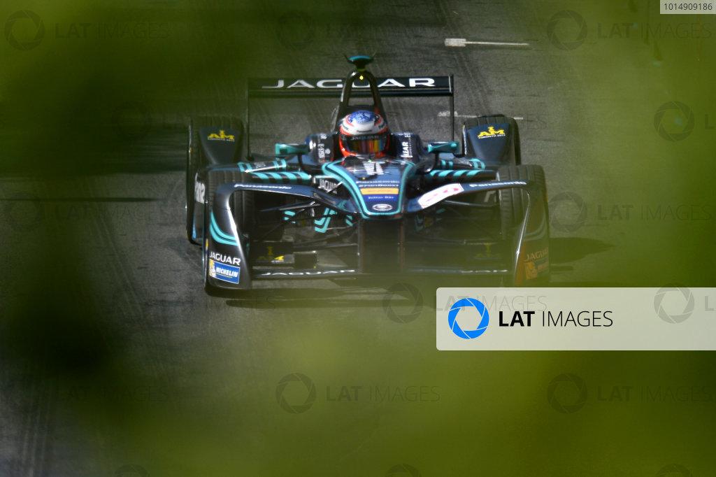 2016/2017 FIA Formula E Championship. Round 12 - Montreal ePrix, Canada Sunday 1 January 2012. Mitch Evans (NZL), Jaguar Racing, Spark-Jaguar, Jaguar I-Type 1. Photo: Patrik Lundin/LAT/Formula E ref: Digital Image PL1_3220 copy