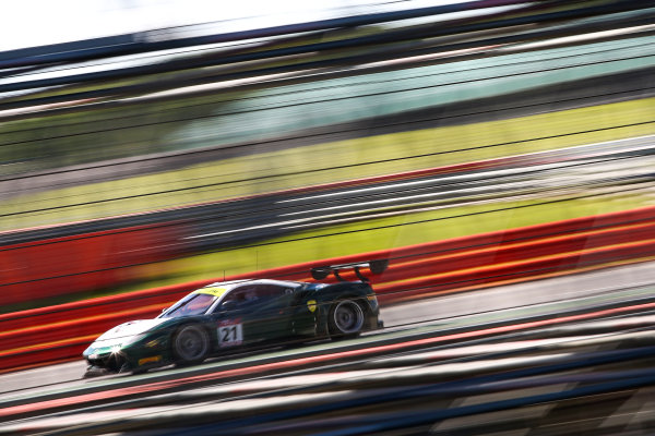 2017 British GT Championship, Silverstone, 11th-12th June 2017, Duncan Cameron / Matt Griffin Spirit of Race Ferrari 488. World copyright. JEP/LAT Images
