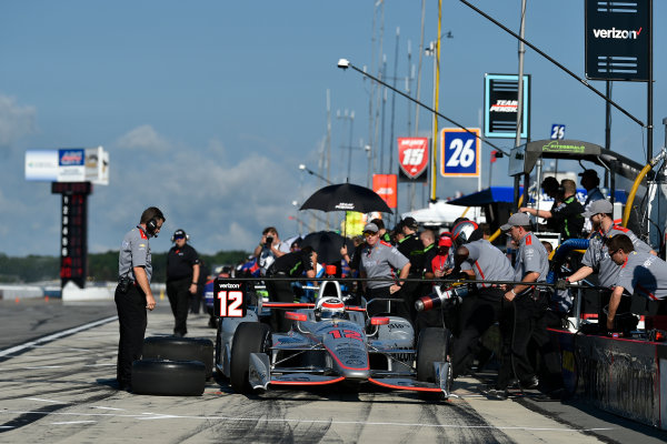 Verizon IndyCar Series ABC Supply 500 Pocono Raceway, Long Pond, PA USA Saturday 19 August 2017 Will Power, Team Penske Chevrolet World Copyright: Scott R LePage LAT Images ref: Digital Image lepage-170819-poc-1450
