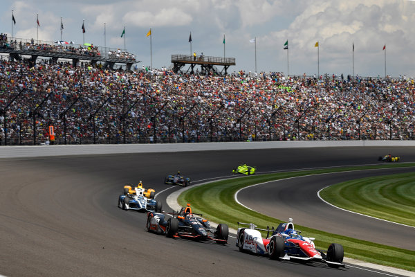 29 May, 2016, Indianapolis, Indiana, USA Jack Hawksworth, Alex Tagliani ?2016, Scott R LePage  LAT Photo USA