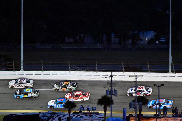 30 June-2 July, 2016, Daytona Beach, Florida USA Michael McDowell, Leavine Family Racing and David Ragan ?2016, Nigel Kinrade LAT Photo USA