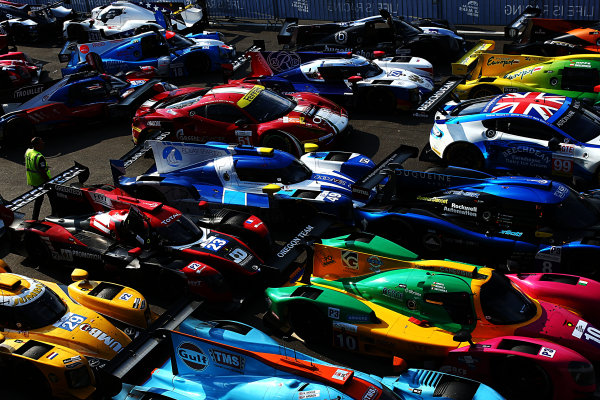 2017  European Le Mans Series, Red Bull Ring, 21st-23rd July 2017, Parc Ferme  World Copyright. JEP/LAT Images