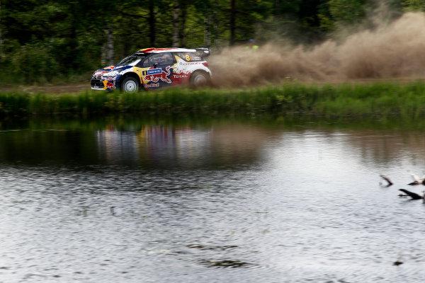 Round 08-Neste Rally Finland 1/8-4/8 2012.Thierry Neuveille, Citroen WRC, Action.Worldwide Copyright: McKlein/LAT