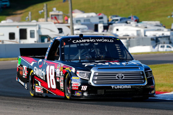 NASCAR Camping World Truck Series Chevrolet Silverado 250 Canadian Tire Motorsport Park Bowmanville, ON CAN Saturday 2 September 2017 Noah Gragson, Switch Toyota Tundra World Copyright: Russell LaBounty LAT Images