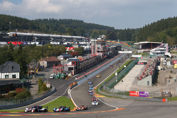 2017 European Le Mans Series  Spa-Franchorchamps, Belgium 22nd-24th September 2017 Start  of the race World copyright. JEP/LAT Images