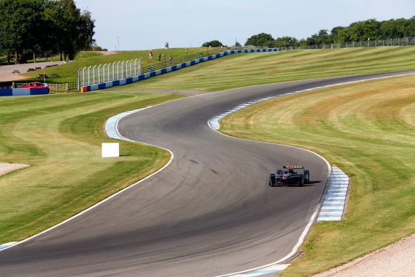 FIA Formula E Season 3 Testing - Day Two. Donington Park Racecourse, Derby, United Kingdom. Loic Duval, Faraday Future Dragon Racing, Spark-Penske. Wednesday 24 August 2016. Photo: Adam Warner / LAT / FE. ref: Digital Image _14P2309