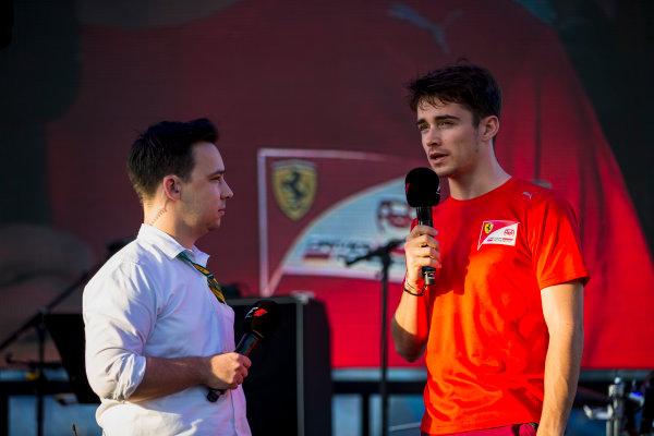 2017 FIA Formula 2 Round 11. Yas Marina Circuit, Abu Dhabi, United Arab Emirates. Friday 24 November 2017. Charles Leclerc (MCO, PREMA Racing).  Photo: Zak Mauger/FIA Formula 2. ref: Digital Image _X0W8267