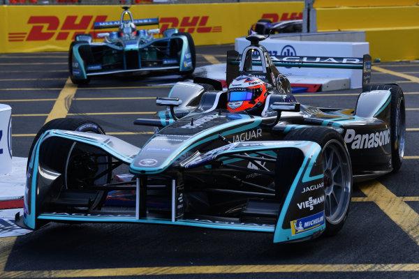 2017/2018 FIA Formula E Championship. Round 2 - Hong Kong, China. Sunday 03 December 2017. Mitch Evans (NZL), Panasonic Jaguar Racing, Jaguar I-Type II. Photo: Mark Sutton/LAT/Formula E ref: Digital Image DSC_4942