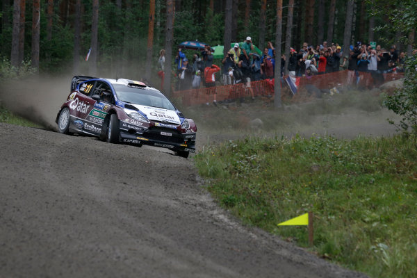 2013 FIA World Rally Championship Round 08-Rally Finland 31/7-3/8 2013. Thierry Neuville, Ford WRC, Action  Worldwide Copyright: McKlein/LAT