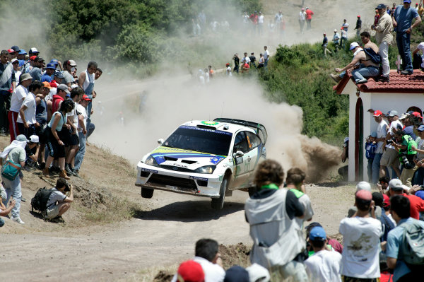2004 FIA World Rally Champs. Round six, Acropolis Rally.3rd-6th June 2004.Francois Duval, Ford, action.World Copyright: McKlein/LAT
