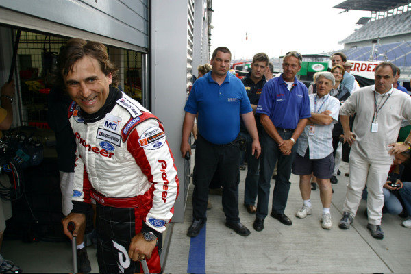 2003 ChampCar World Series, Eurospeedway, Lausitz, Germany. 10-11 May 2003.