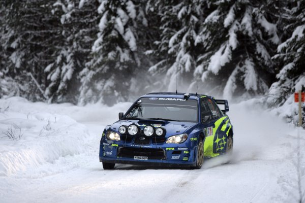 2007 FIA World Rally ChampionshipRound 3Rally of Norway 200715th - 18th February 2007Petter Solberg, Subaru, ActionWorldwide Copyright: McKlein/LAT