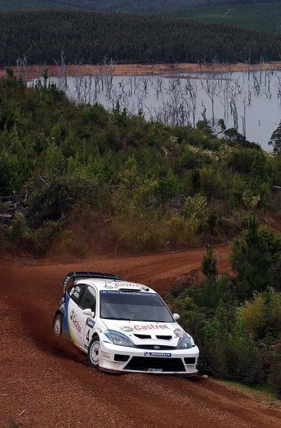 Markko Martin (EST) / Michael Park (GBR) Ford Focus RS WRC 03.