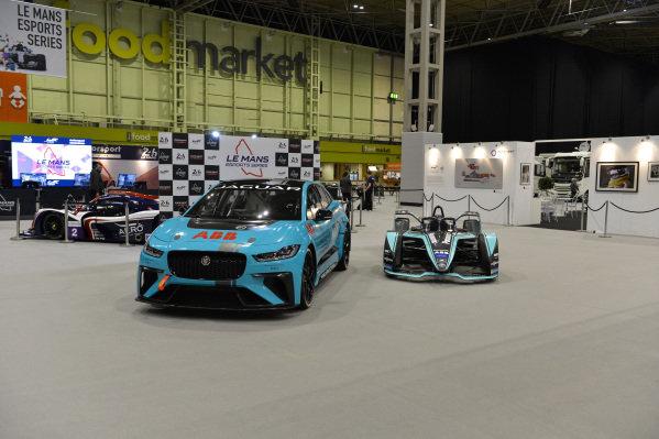 Jaguar electric racers.