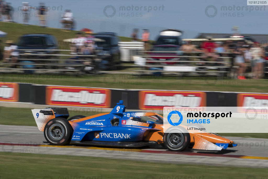 #9: Scott Dixon, Chip Ganassi Racing Honda