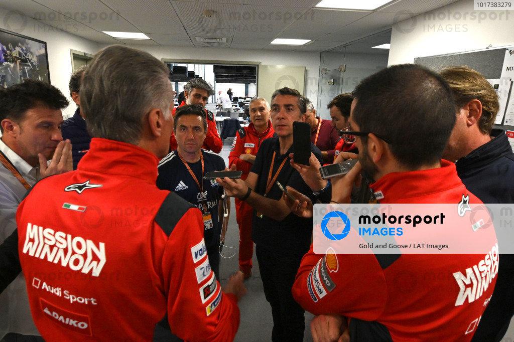 Davide Tardozzi, Team manager Ducati Team.