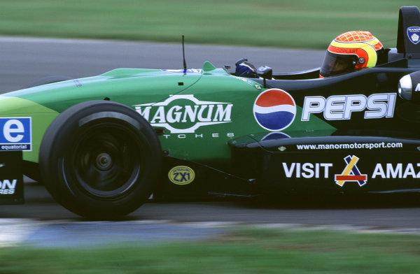 British Formula ThreeDonington, England. 1st - 2nd July 2000. Rd 7&8.Race One winner Antonio Pizzonia.World - Peter Spinney/ LAT Photographic