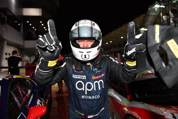 Philippe Prette, Blackbird Concessionaires HK, celebrates victory