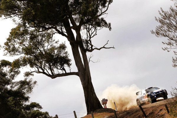 Sebastien Ogier (FRA) / Julien Ingrassia (FRA), Volkswagen Polo R WRC at FIA World Rally Championship, R10, Coates Hire Rally Australia, Day One, Coffs Harbour, New South Wales, Australia, 11 September 2015.