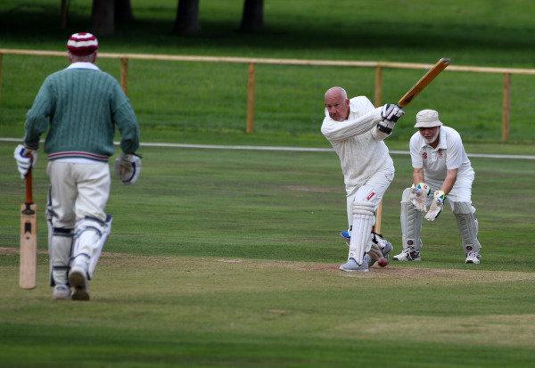 Goodwood Revival Cricket Match David Clark