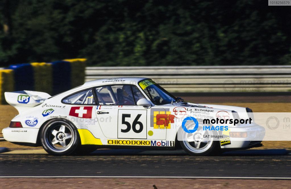 Olivier Haberthur / Patrice Goueslard / Patrick Vuillaume, Elf Haberthur Racing, Porsche 911 Turbo.