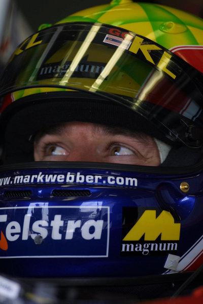2002 Japanese Grand Prix.Suzuka, Japan.11-13 October 2002.Mark Webber (Minardi Asiatech).World Copyright - Steve Etherington/LAT Photographicref: Digital Image Only