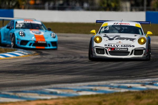 2017 Porsche GT3 Cup USA Sebring International Raceway, Sebring, FL USA Friday 17 March 2017 44, Greg Palmer, GT3G, USA, 2015 Porsche 991 World Copyright: Jake Galstad/LAT Images ref: Digital Image lat-galstad-SIR-0317-14861