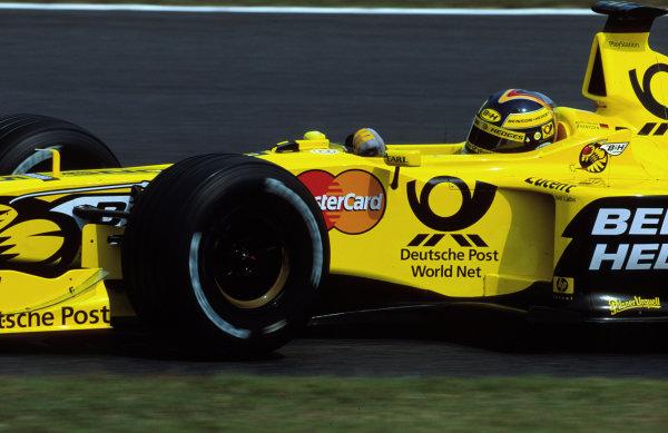 Suzuka, Japan.6-8 October 2000.Heinz-Harald Frentzen (Jordan EJ10 Mugen Honda).World copyright - LAT Photographic