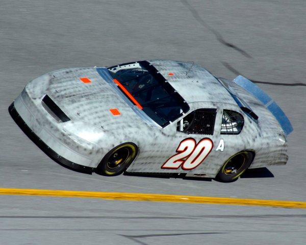 2003 NASCAR TestingDaytona, USA. 7th January 2003Tony Stewart, Chevrolet, action.World Copyright: Greg Aleck/ LAT Photographicref: Digital Image Only