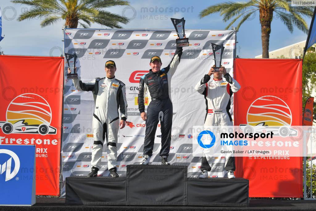 TC Race 2 Podium
