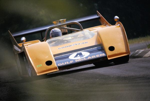Peter Revson, Bruce McLaren Motor Racing Ltd, McLaren M20 Chevrolet.