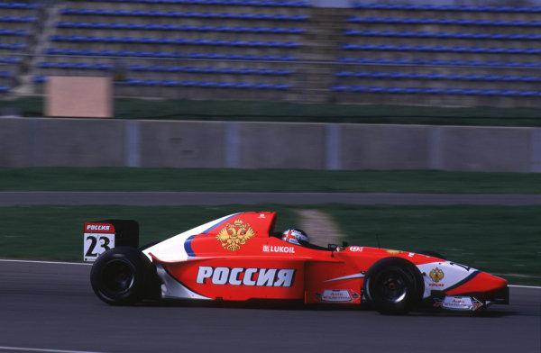 Silverstone, England. 22-23/3/2000. Darren Manning. Arden Racing. World - LAT Photographic