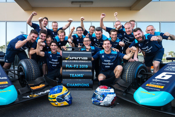 Sergio Sette Camara (BRA, DAMS) and Nicholas Latifi (CAN, DAMS) celebrate winning the 2019 Teams Championship with DAMS