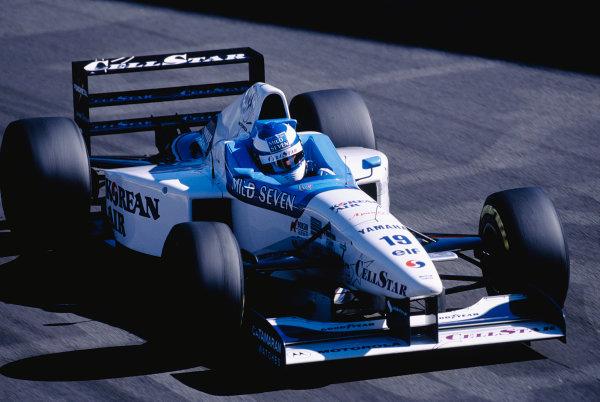 1996 Italian Grand Prix.Monza, Italy. 6-8 September 1996.Mika Salo (Tyrrell 024 Yamaha).Ref-96 ITA 51.World Copyright - LAT Photographic