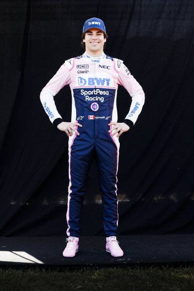 Official Portrait of Lance Stroll, Racing Point