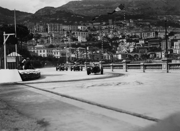 Monte Carlo, Monaco. 19-22 April 1935.